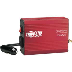 Tripp Lite PowerVerter 150-Watt Ultra-Compact Inverter - 12V DC - 120V AC - Continuous Power:150W