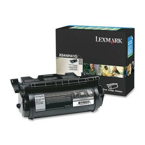 Lexmark High Capacity Black Toner Cartridge - Black - Laser