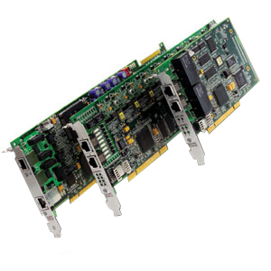 Dialogic Brooktrout TR1034 +P24H-T1-1N-R Fax Boards - 24 x T1 - Group 4, ITU-T V.34 - PCI