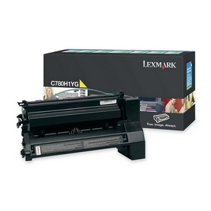 Lexmark Extra High Yield Yellow Toner Cartridge for C782n, C782dn, C782dtn and X782e Printers - Yellow - Laser - 15000 Page