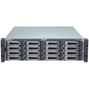 "Promise VTrak E610SS SATA/SAS Hard Drive Enclosure - 16 x 3.5"" - 1/3H Front Accessible Hot-swappable - Rack-mountable"