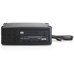 HP StorageWorks Q1581SB DAT 160 Smart Buy Tape Drive - 80GB (Native)/160GB (Compressed) - USBExternal