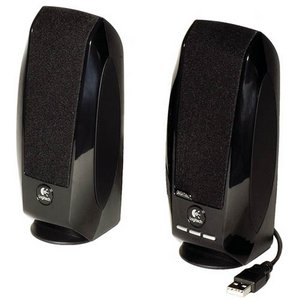 Logitech S-150 USB Digital Speaker System - 2.0-channel - 1.2W (RMS)