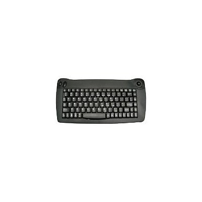 Solidtek Mini 88 Keys Keyboard w/Trackball Mouse KB-5010BU - USB - 88 Key - QWERTY