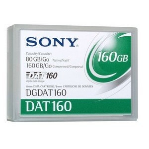 Sony DAT 160 Tape Cartridge - DAT DAT 160 - 80GB (Native) / 160GB (Compressed)