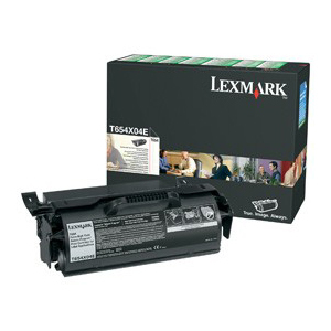 Lexmark Extra High Yield Return Program Black Toner Cartridge - Laser - 36000 Page - Black