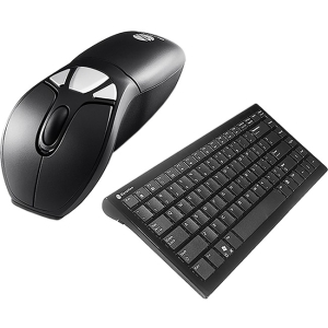 Gyration Air Mouse GO Plus with Compact Keyboard - Gyroscopic - USB - 5 x Button