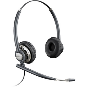 Plantronics EncorePro HW301N Stereo Headset - Wired Connectivity - Stereo - Over-the-head