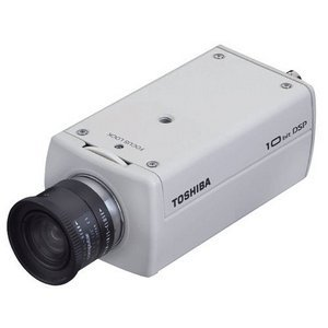 Toshiba IK-6420A Day/Night Security Camera - Color - CCD - Cable