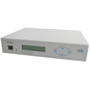 SEH ISD300-SSD Intelligent Print Server - 1 x 10/100Base-TX , 1 x USB 2.0 - 100Mbps