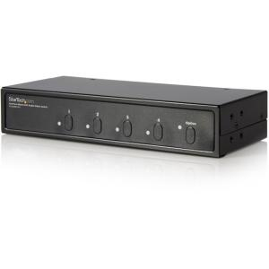 StarTech.com 2x4 Port Matrix DVI Audio Video Switch - 2 x DVI-I Video In