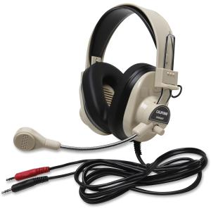 Deluxe Multimedia Stereo Wired Headset 3.5Mm Plug Via Ergoguys - Wired Connectivity - Stereo - Over-the-head
