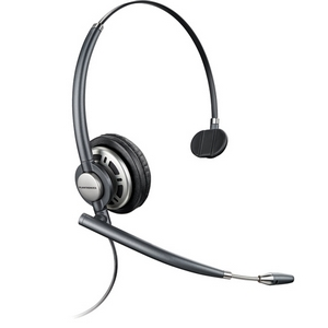 Plantronics EncorePro HW291N Mono Headset - Wired Connectivity - Mono - Over-the-head