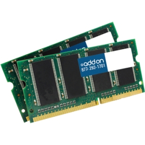 AddOn - Memory Upgrades 8GB KIT DDR3 1066MHZ 204-pin SODIMM F/ Notebooks - 8 GB (2 x 4 GB) - DDR3 SDRAM - 1066 MHz DDR3-1066/PC3-8500 - 204-pin SoDIMM