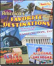 America's Favorite Destinations - DVD