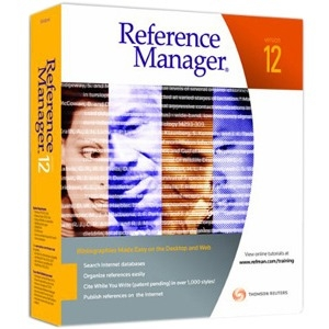 Thomson ResearchSoft Reference Manager v.12.0 - Upgrade - Reference/Management - PC