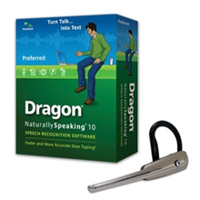 Dragon NaturallySpeaking 10 Preferred Wireless Bundle