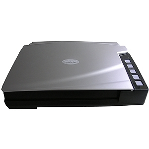 Plustek OpticBook A300 Large Format 12x17 Flatbed Book Scanner - 48 bit Color - 16 bit Grayscale
