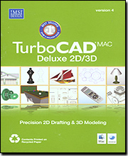 TurboCAD Mac Deluxe 2D/3D Version 4