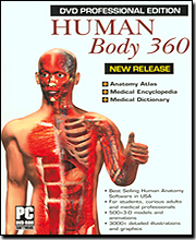 Human Body 360  (Includes Human 3D and Anatomy Atlas)