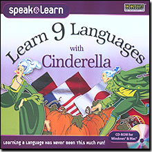 Learn 9 Languages with Cinderella