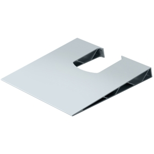 Telehook Cable Manager Shelf System - Aluminum - Silver