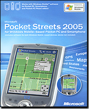 Microsoft Pocket Streets 2005 - Media Only