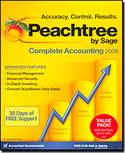 Peachtree 2009 Complete Accounting - Multi User Edtion (Up to 5 Users)