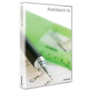 Autodesk AutoSketch v.10.0 - License - 1 User - PC