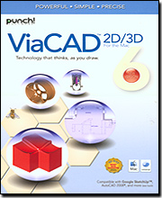 Punch! ViaCAD Version 6 2D/3D for Mac
