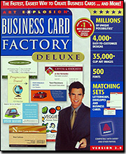 Business Card Factory Deluxe 2.0