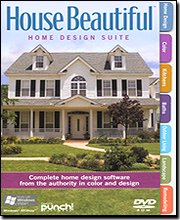 Punch! House Beautiful Home Design Suite