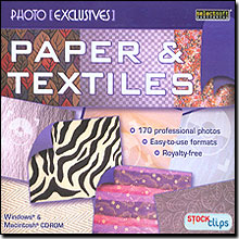 Photo Exclusives Paper and Textiles