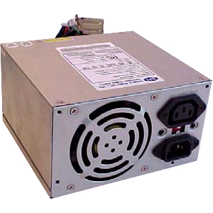 Sparkle Power 300W AT Power Supply - 65% - 110 V AC, 220 V AC