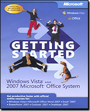 Microsoft Getting Started: Windows Vista & 2007 Microsoft Office System