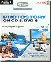 Magix Xtreme Photostory On CD & DVD 6