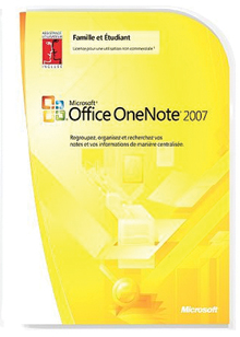Microsoft Office OneNote 2007 French