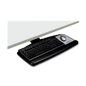 "3M Adjustable Keyboard Tray - 6.7"" x 12.7"" x 28"""