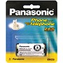 Panasonic Nickel-Metal Hydride Battery for Cordless Phones - Nickel-Metal Hydride (NiMH) - 2.4V DC