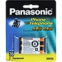 Panasonic Nickel Metal Hydride Cordless Phone Battery - Nickel-Metal Hydride (NiMH) - 650mAh - 3.6V DC