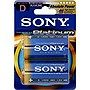 Sony AM1PT-B2A Stamina Platinum Alkaline General Purpose Battery - Alkaline - 1.5V DC
