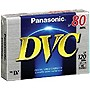 Panasonic Mini DV Cassette - MiniDV - 80 Minute - SP