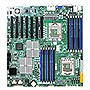 Supermicro X8DTH-6F Server Motherboard - Intel 5520 Chipset - Socket B LGA-1366 - Retail Pack - Extended ATX - 2 x Processor Support - 96 GB DDR3 SDRAM Maximum RAM - Serial Attached SCSI (SAS), Serial ATA/300 RAID Supported Controller - On-board Video Chi