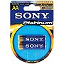 Sony Stamina Platinum AA Size General Purpose Battery - Alkaline - 1.5V DC