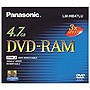 Panasonic 3x DVD-RAM Media - 4.7GB - 1 Pack
