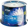 TDK Life on Record 8x DVD+R Double Layer Media - 8.5GB - 120mm Standard - 50 Pack Spindle