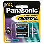 Panasonic CR2 Photo Lithium Battery Pack - 3V DC (2 Pack)