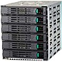 "Intel SAS/SATA Hard Drive Cage - 6 x 3.5"" - 1/3H Front Accessible - Serial ATA - Internal"