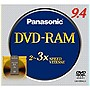 Panasonic 3x DVD-RAM Type IV Double Sided Media - 9.4GB - 1 Pack