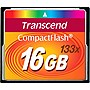 Transcend 16GB CompactFlash (CF) Card - 133x - 16 GB